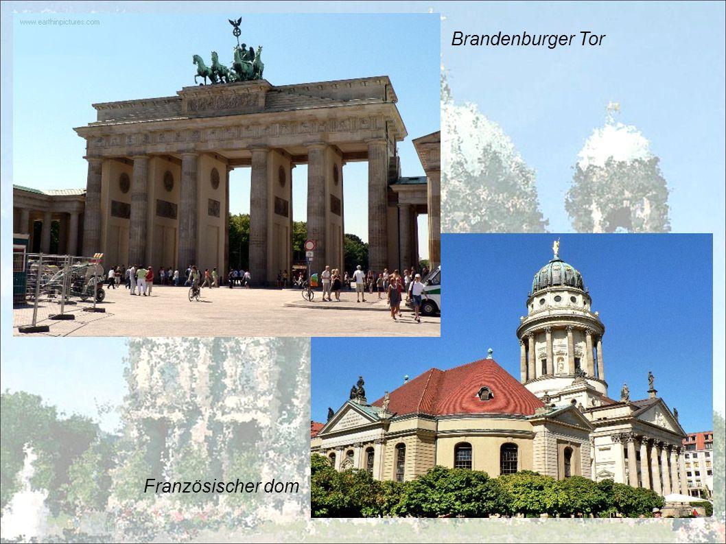 Brandenburger Tor Französischer dom