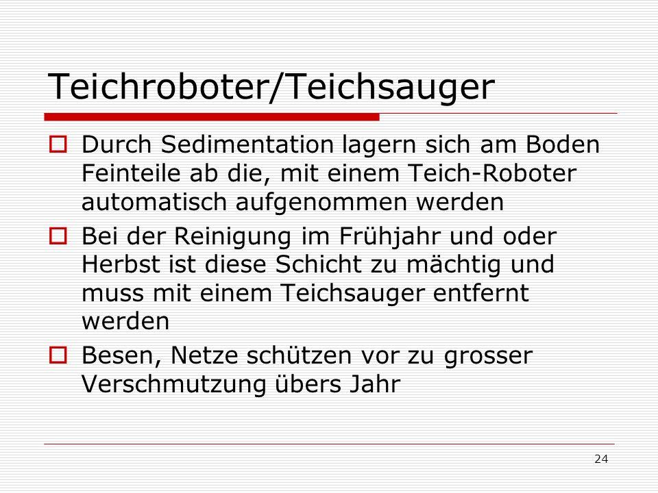 Teichroboter/Teichsauger