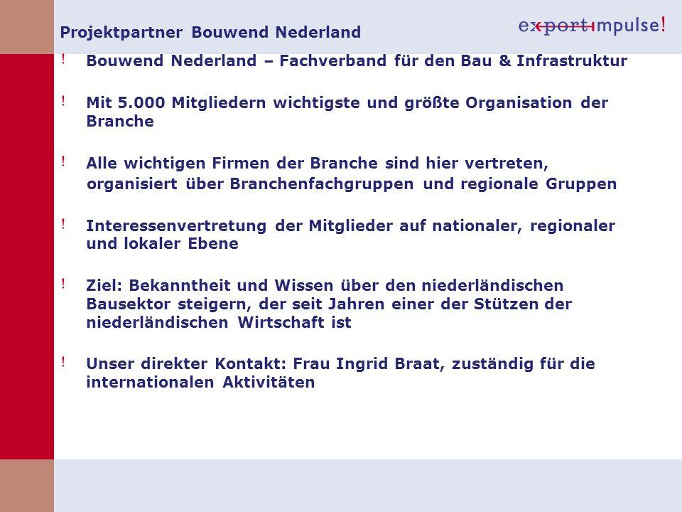 Projektpartner Bouwend Nederland