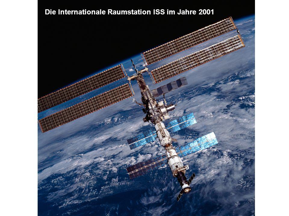 Die Internationale Raumstation ISS im Jahre 2001