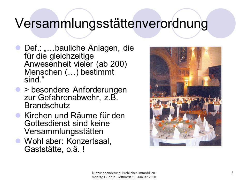 Versammlungsstättenverordnung