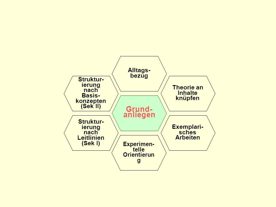 Grund-anliegen Alltags-bezug Struktur-