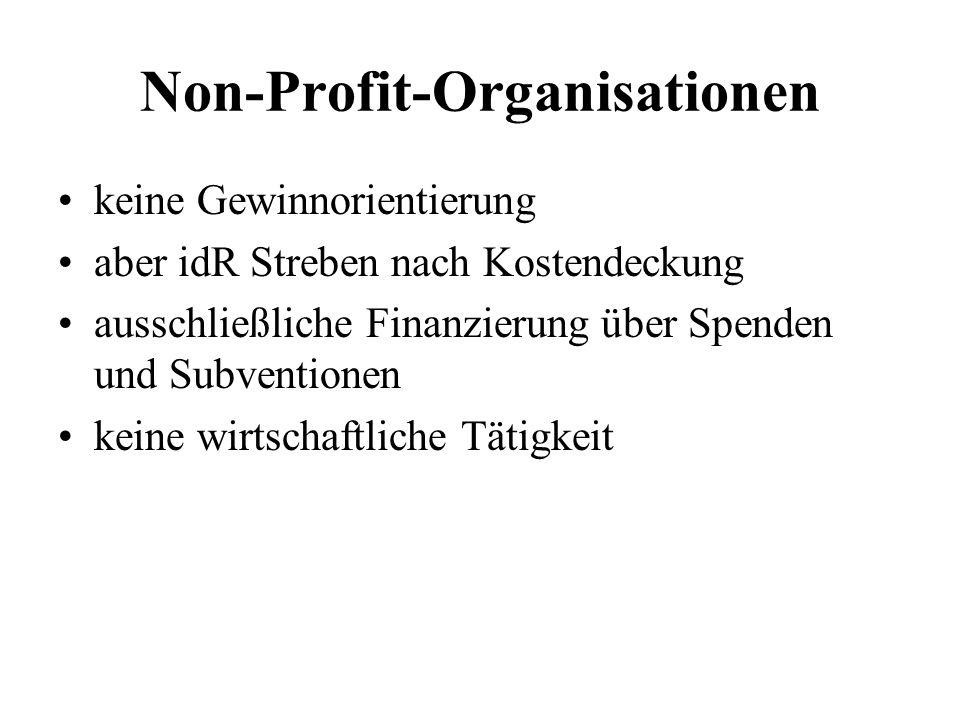 Non-Profit-Organisationen