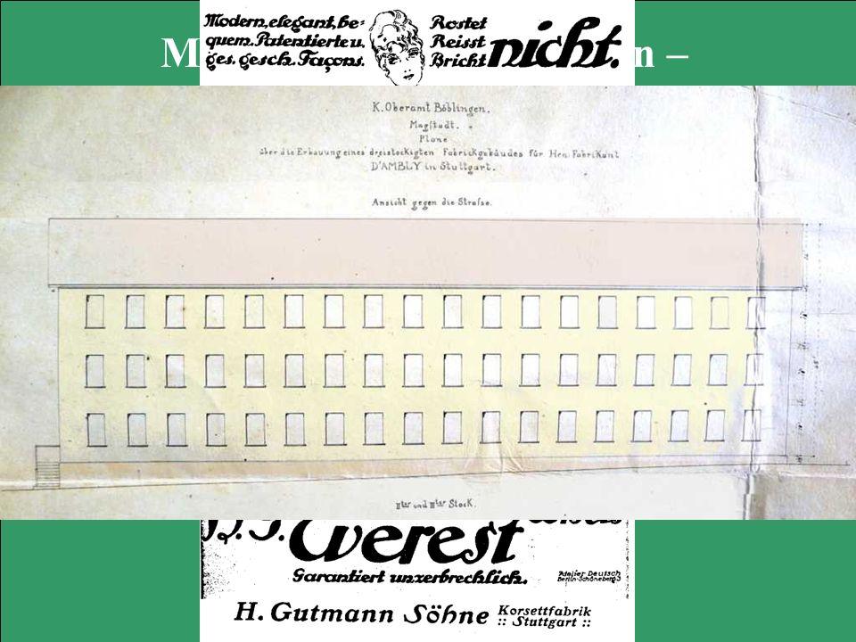Magstadts Korsettfabriken –