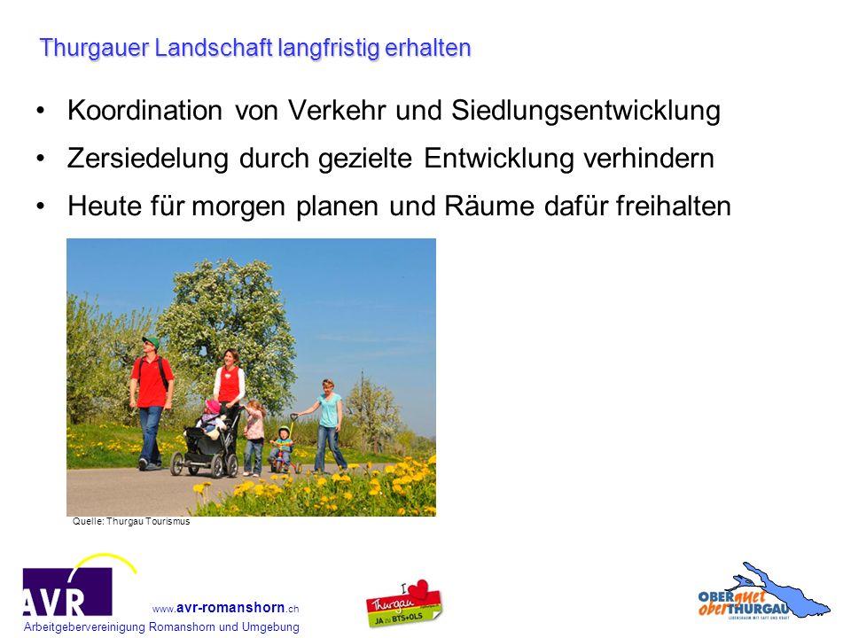 Thurgauer Landschaft langfristig erhalten
