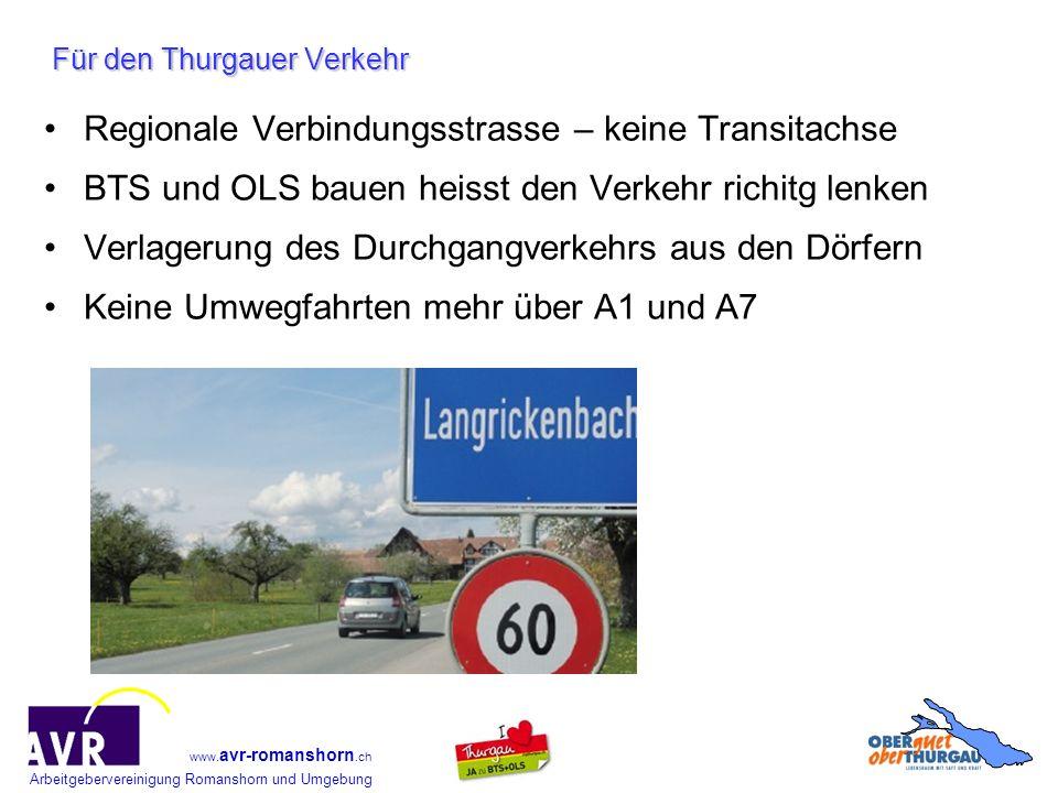 Für den Thurgauer Verkehr