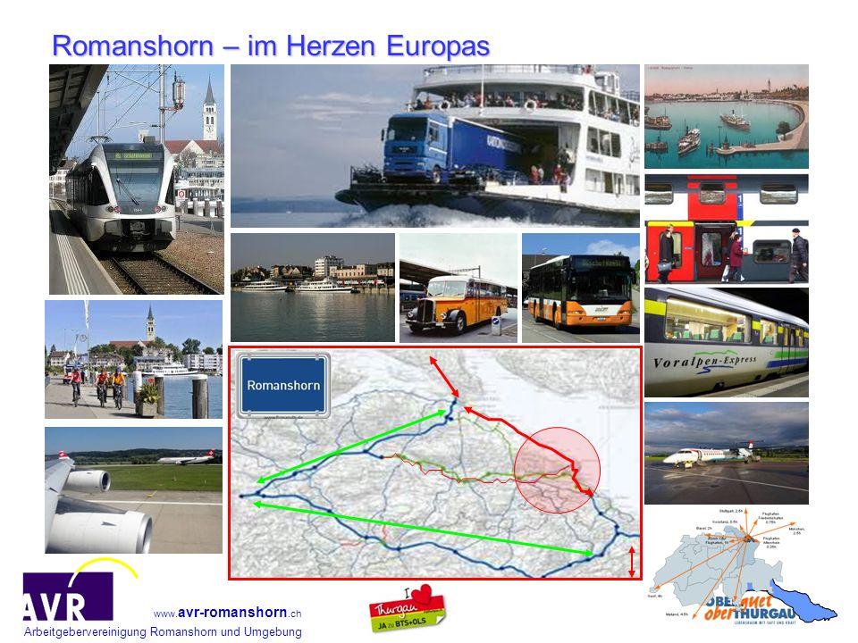 Romanshorn – im Herzen Europas
