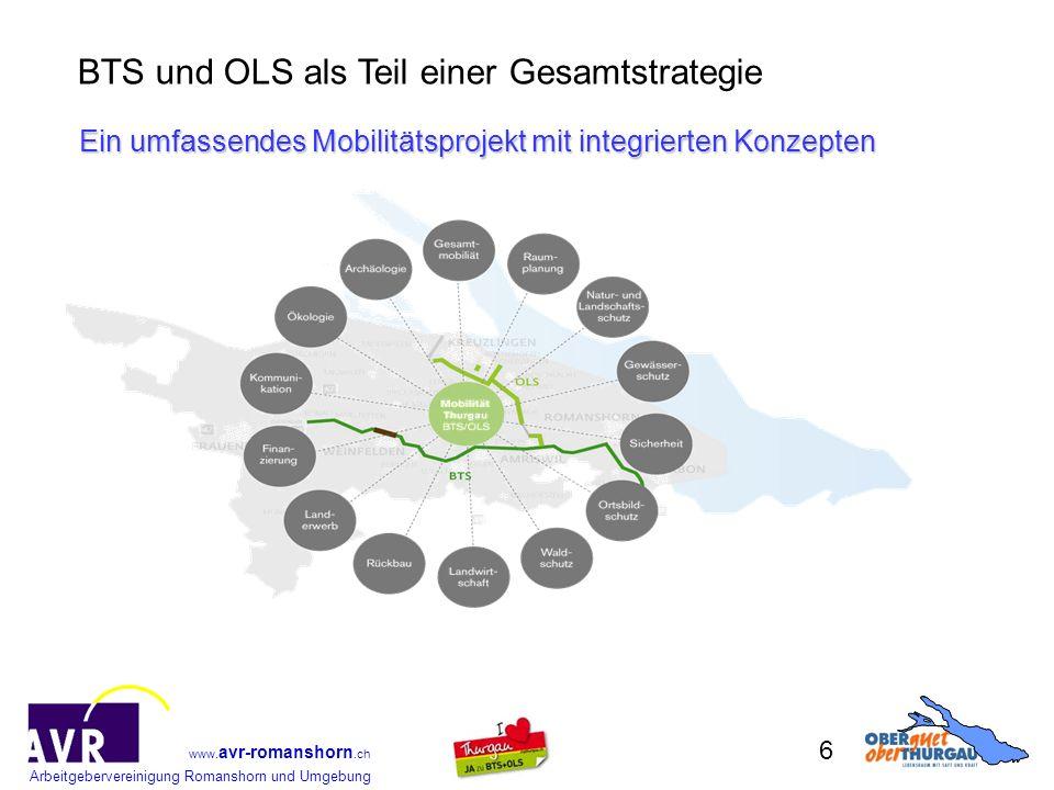 Ein umfassendes Mobilitätsprojekt mit integrierten Konzepten