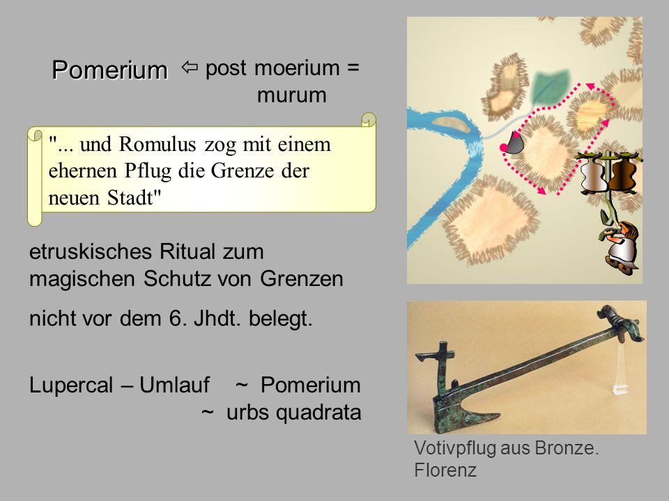 Sagen7 Pomerium Pomerium  post moerium = murum