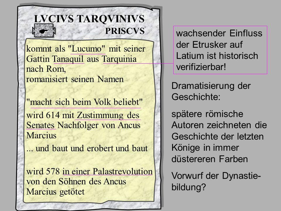 König5 L TarquPrisc LVCIVS TARQVINIVS PRISCVS 