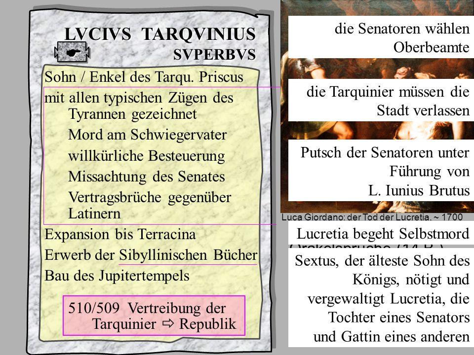 König7 Tarqu Superbus LVCIVS TARQVINIUS SVPERBVS 