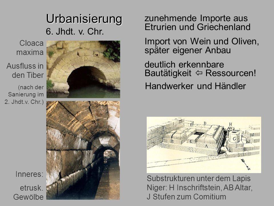 6.Jhdt. ökonom Urbanisierung 6. Jhdt. v. Chr.