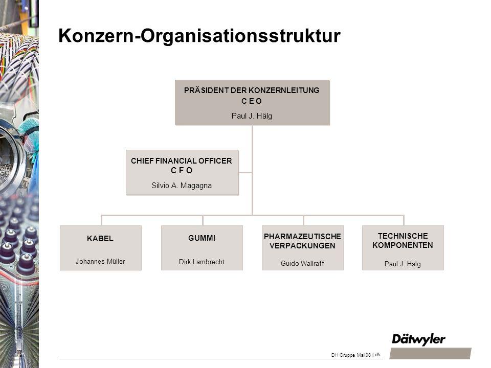 Konzern-Organisationsstruktur