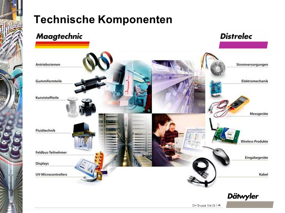 Technische Komponenten