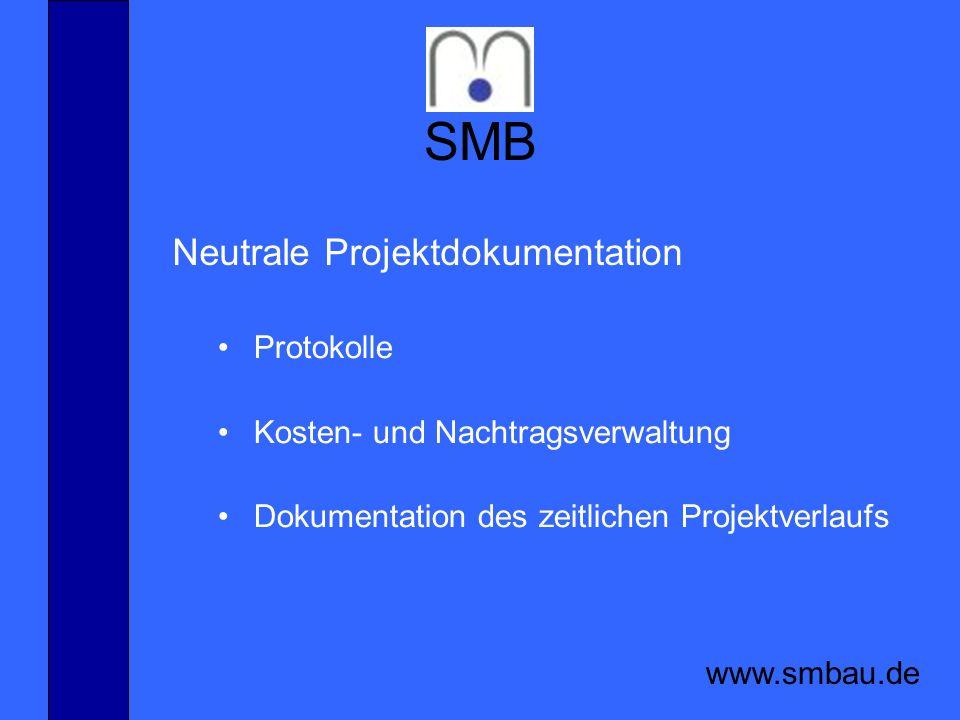 SMB Neutrale Projektdokumentation Protokolle