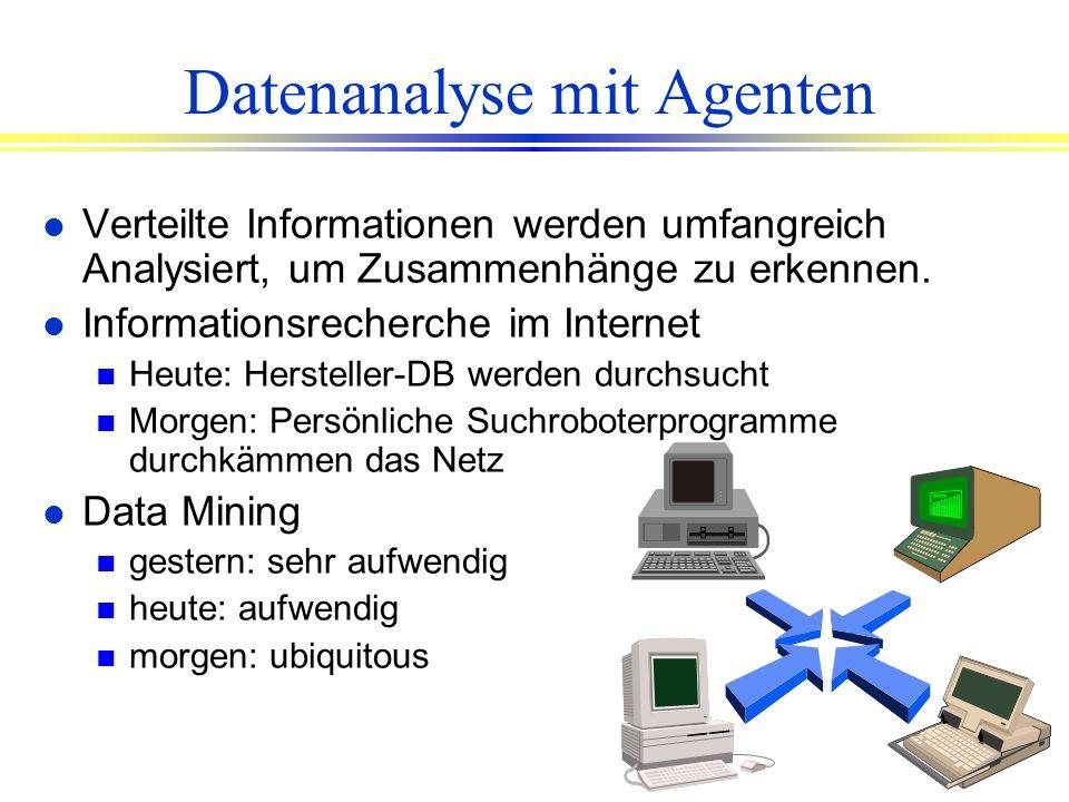 Datenanalyse mit Agenten