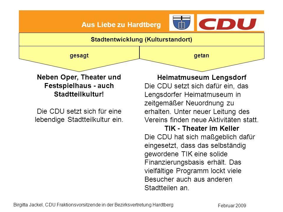 Neben Oper, Theater und Festspielhaus - auch Stadtteilkultur!