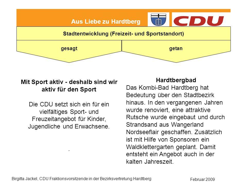 Hardtbergbad Mit Sport aktiv - deshalb sind wir aktiv für den Sport