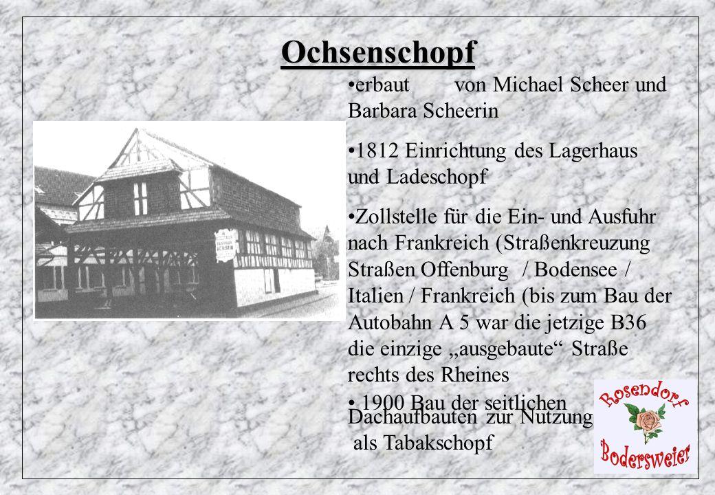 Ochsenschopf erbaut von Michael Scheer und Barbara Scheerin