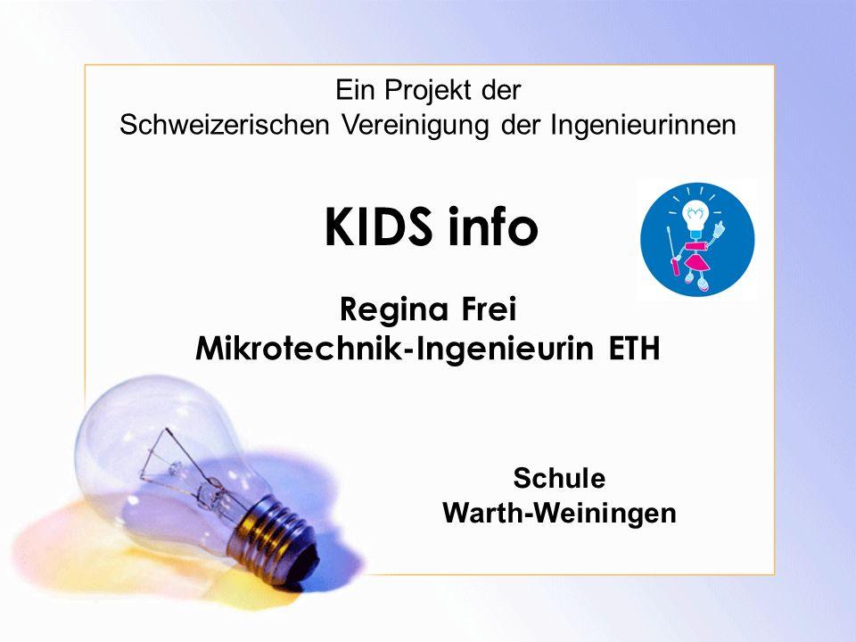 Regina Frei Mikrotechnik-Ingenieurin ETH