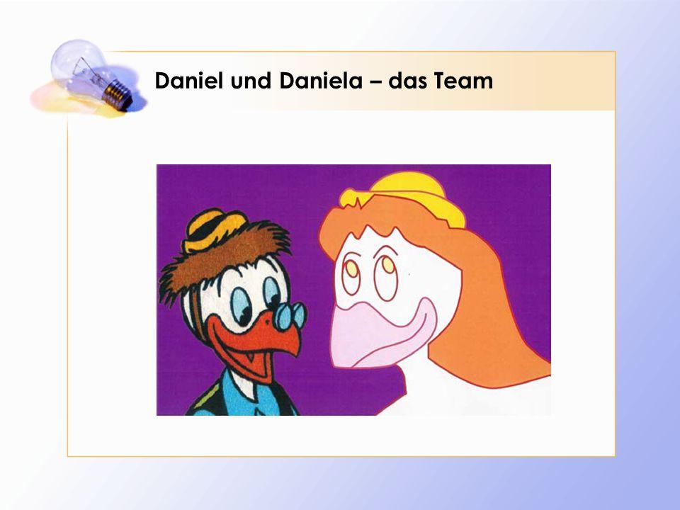 Daniel und Daniela – das Team