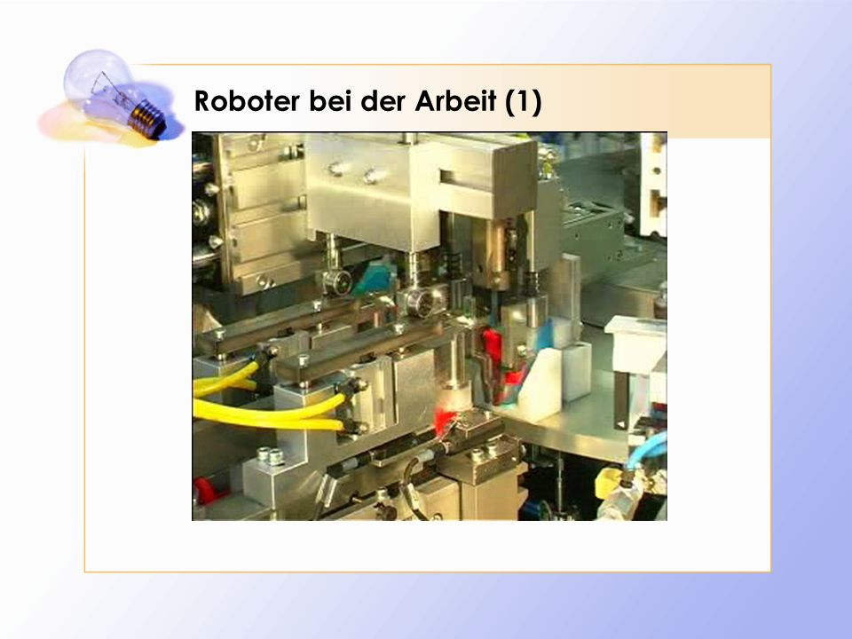 Roboter bei der Arbeit (1)