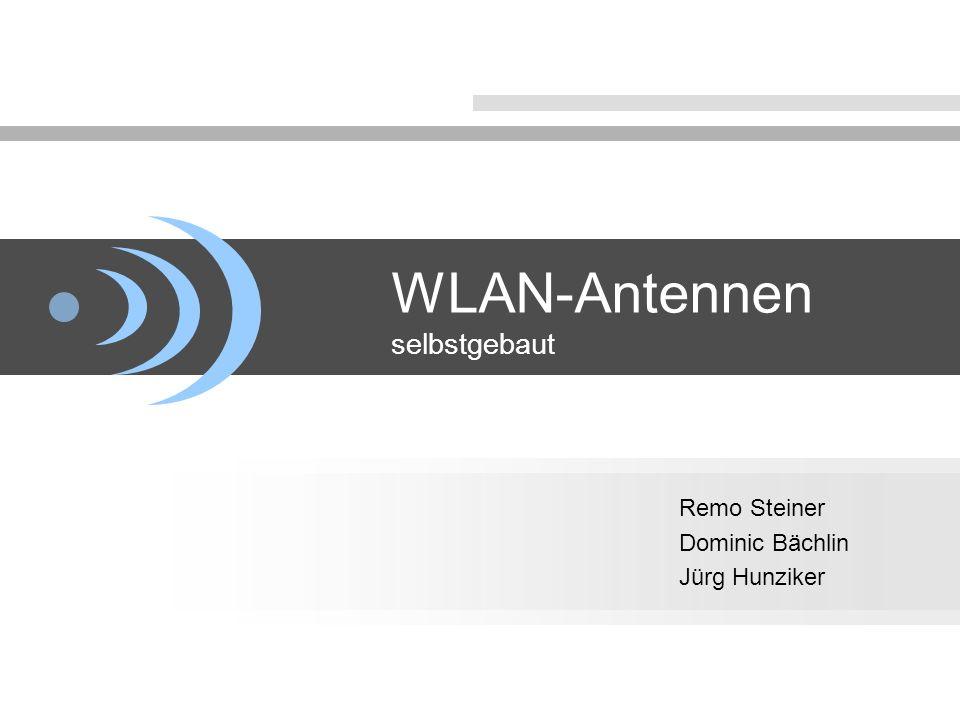 WLAN-Antennen selbstgebaut