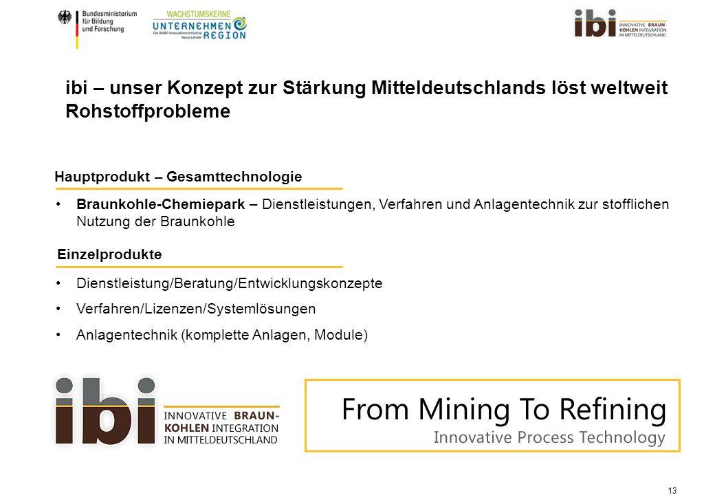 ibi – unser Konzept zur Stärkung Mitteldeutschlands löst weltweit Rohstoffprobleme