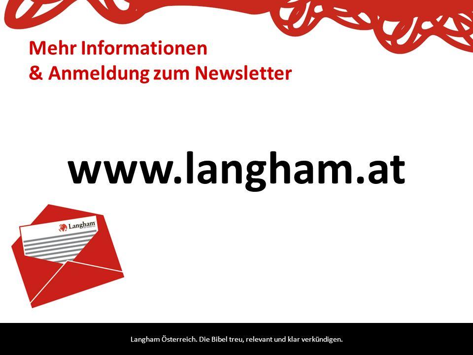 Mehr Informationen & Anmeldung zum Newsletter