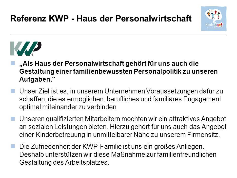 Referenz KWP - Haus der Personalwirtschaft