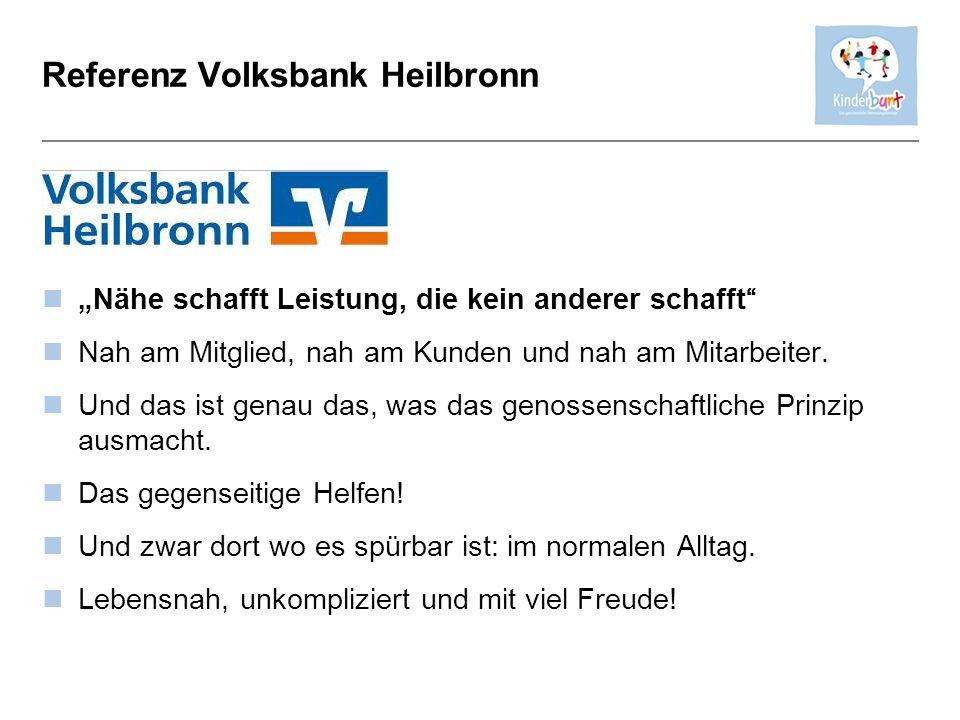 Referenz Volksbank Heilbronn