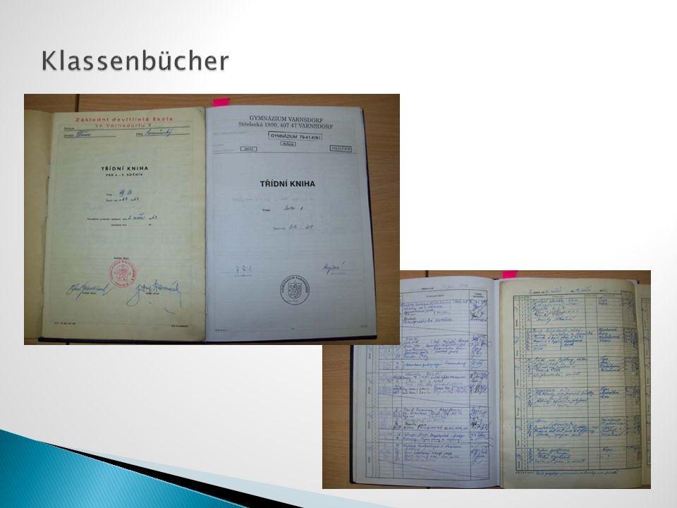 Klassenbücher