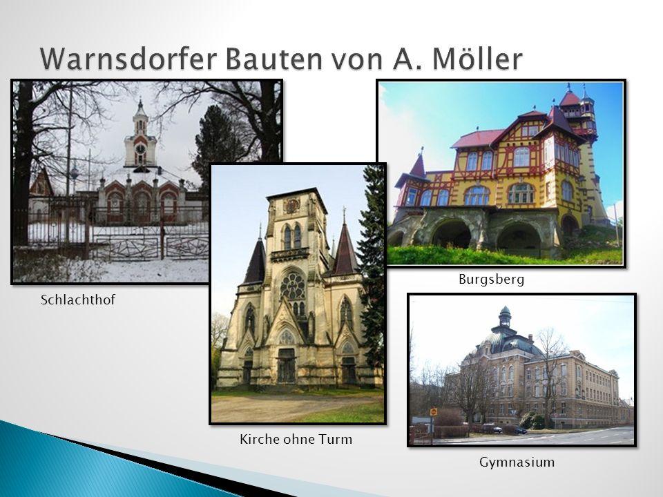 Warnsdorfer Bauten von A. Möller
