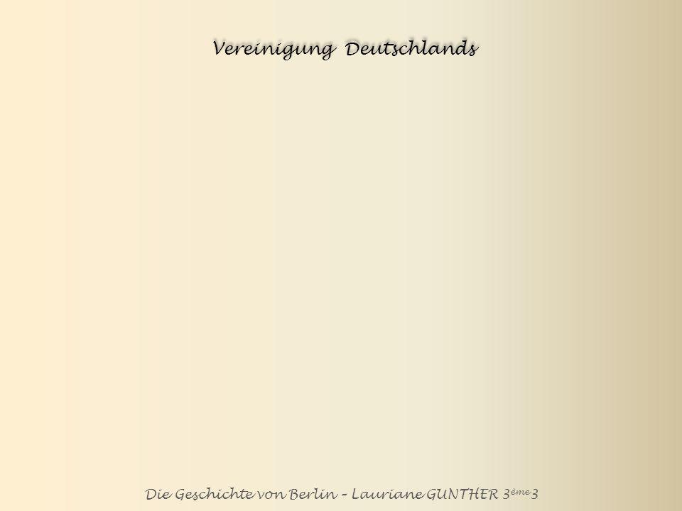 Vereinigung Deutschlands