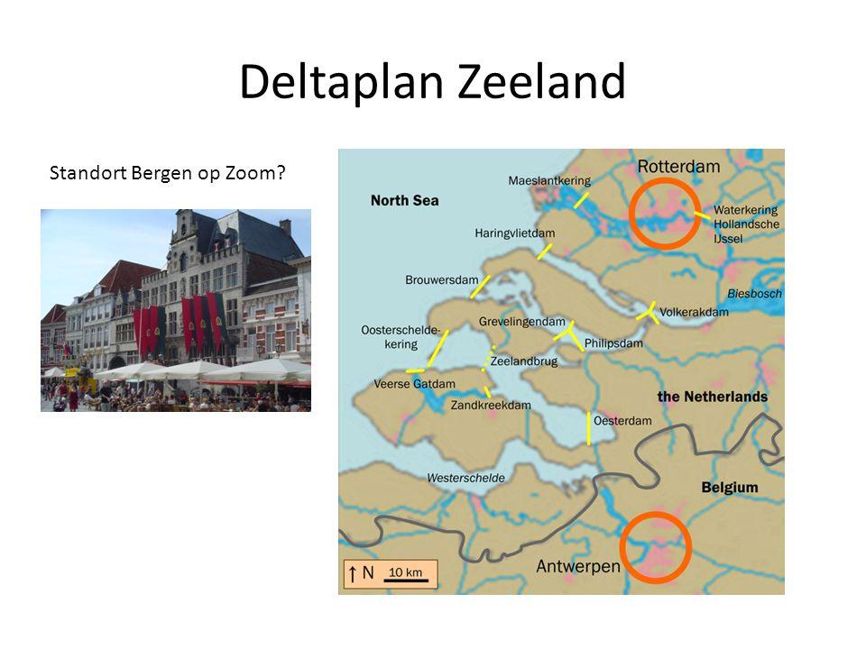 Deltaplan Zeeland Standort Bergen op Zoom