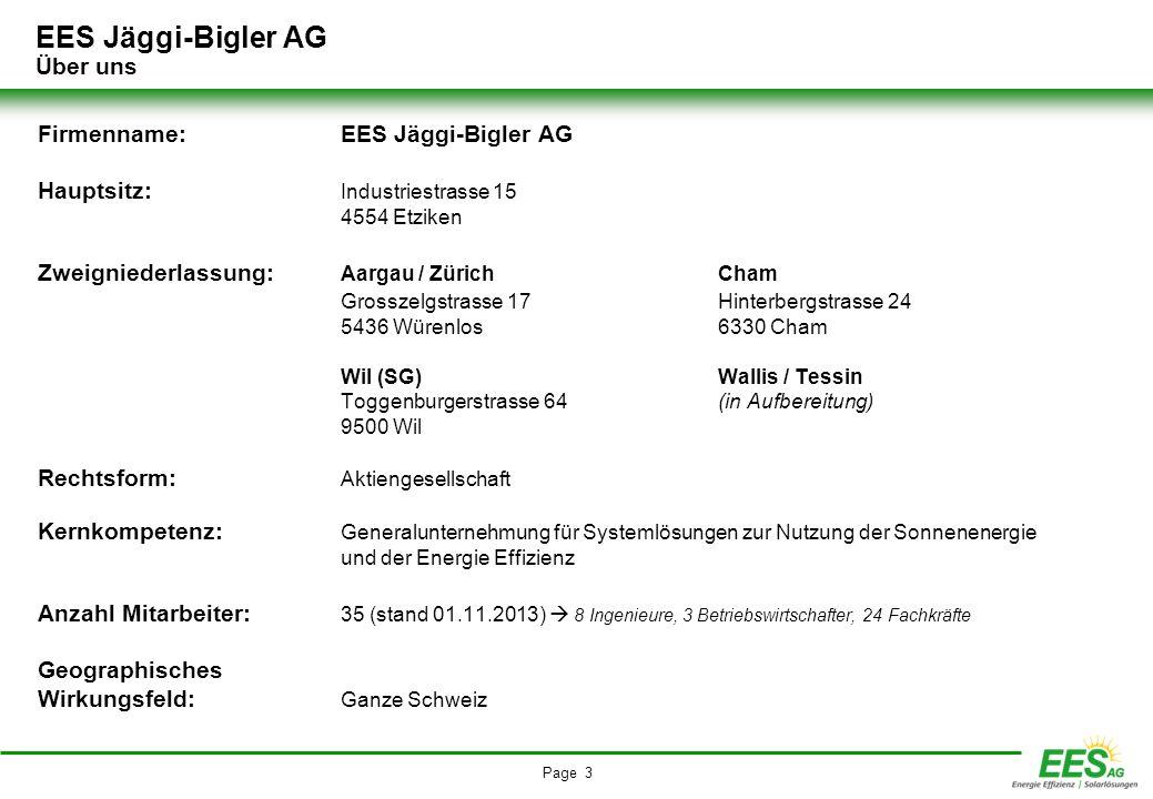 EES Jäggi-Bigler AG Über uns