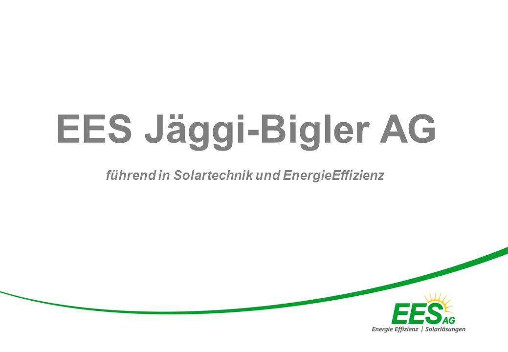 führend in Solartechnik und EnergieEffizienz