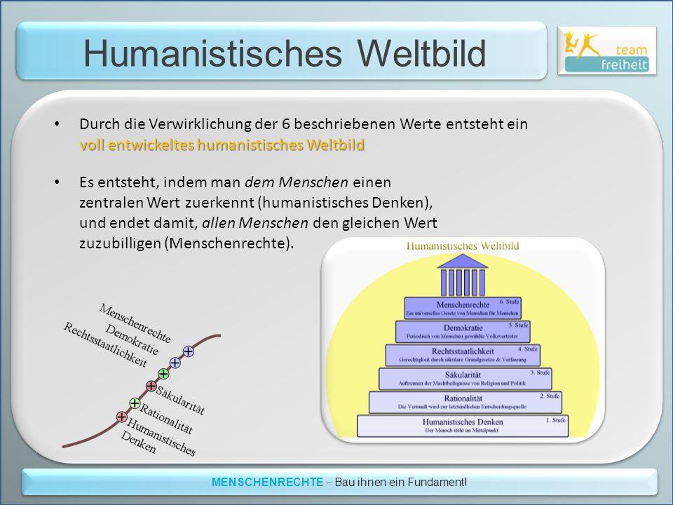 Humanistisches Weltbild