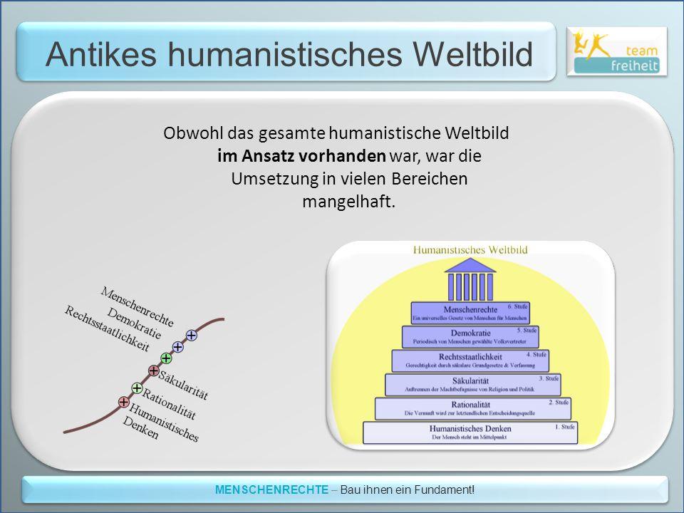 Antikes humanistisches Weltbild