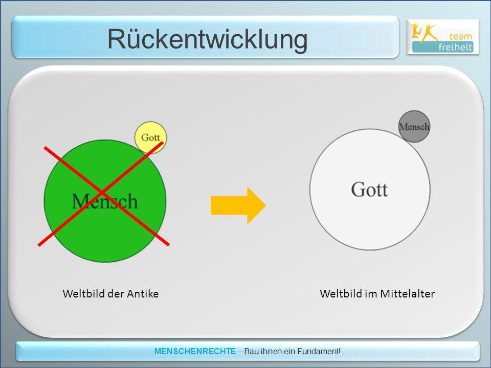 MENSCHENRECHTE – Bau ihnen ein Fundament!