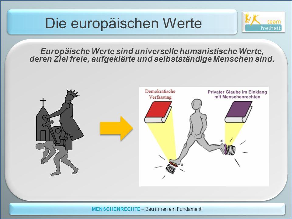 Die europäischen Werte