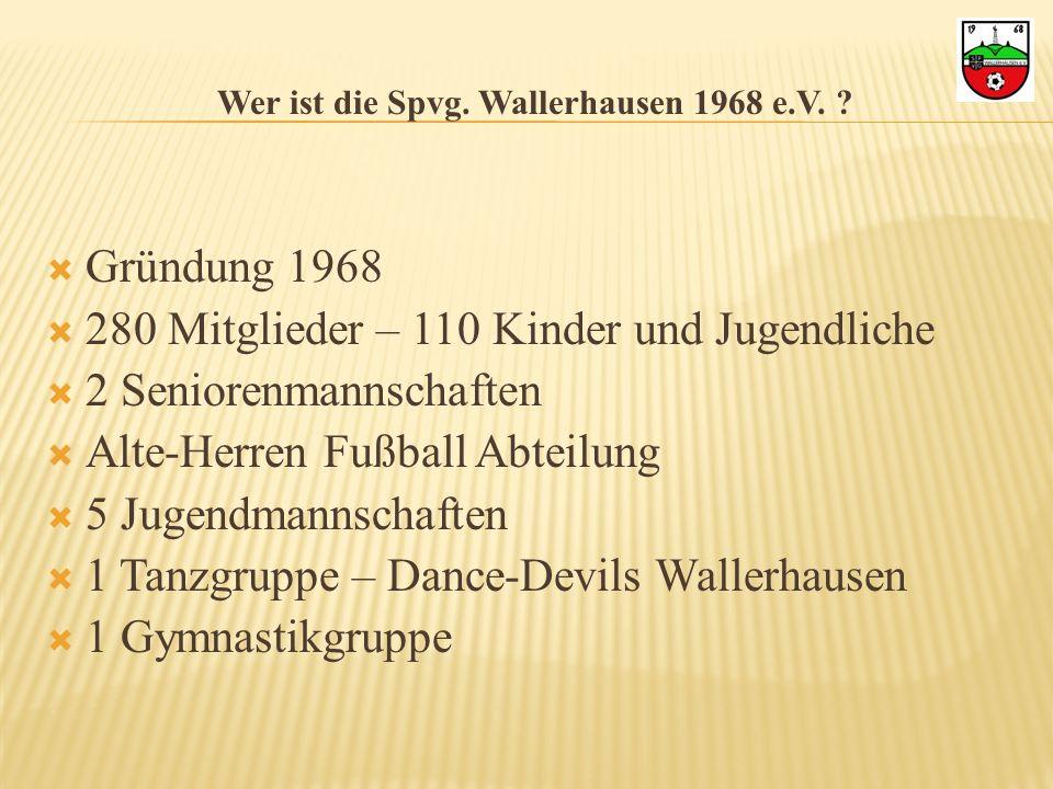 Wer ist die Spvg. Wallerhausen 1968 e.V.