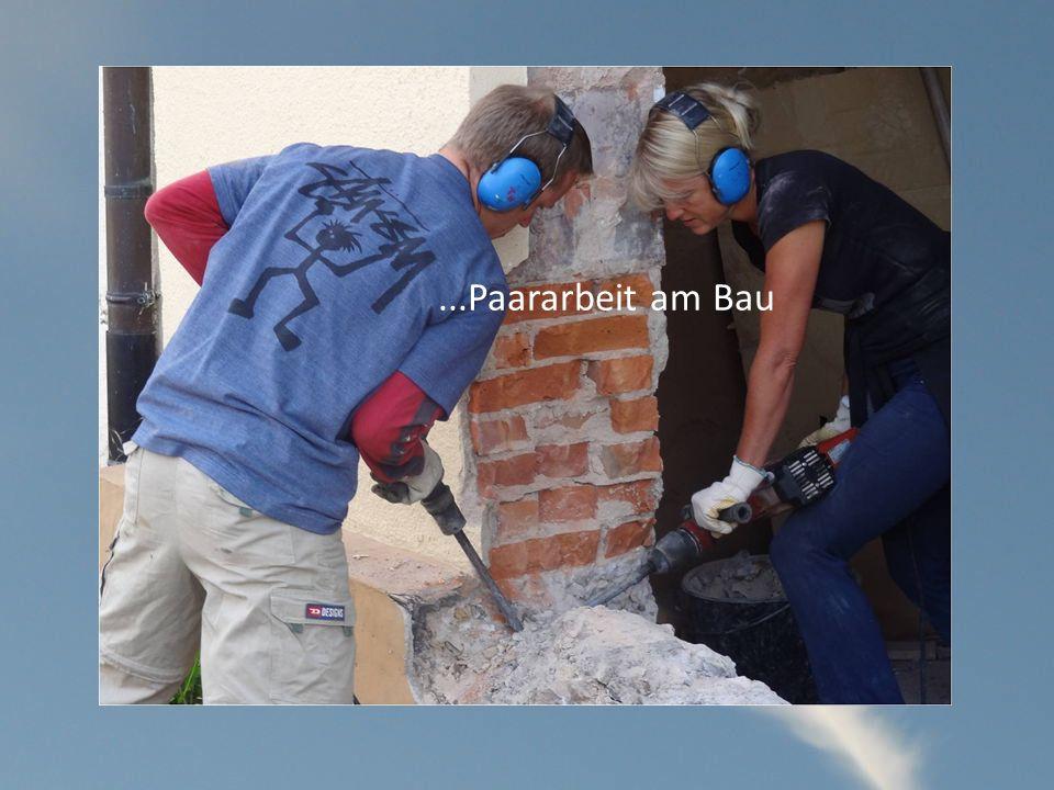 ...Paararbeit am Bau
