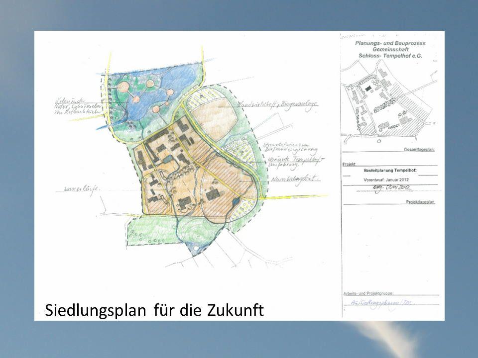 Siedlungsplan für die Zukunft