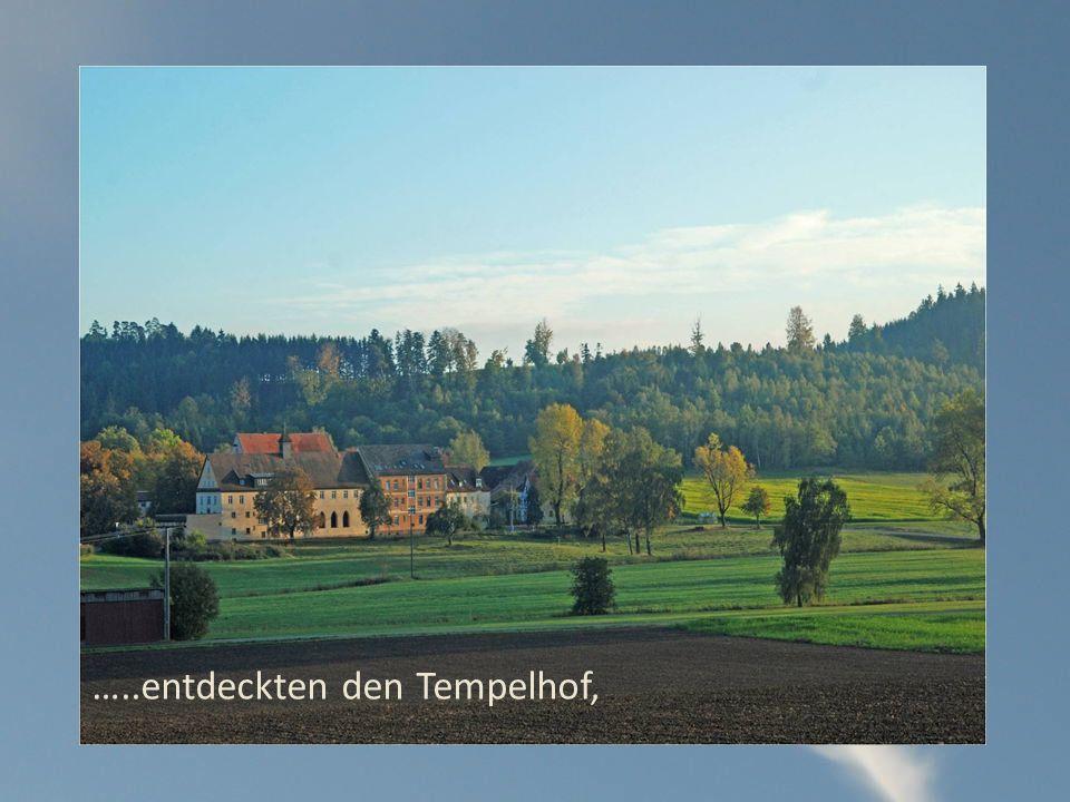 …..entdeckten den Tempelhof,