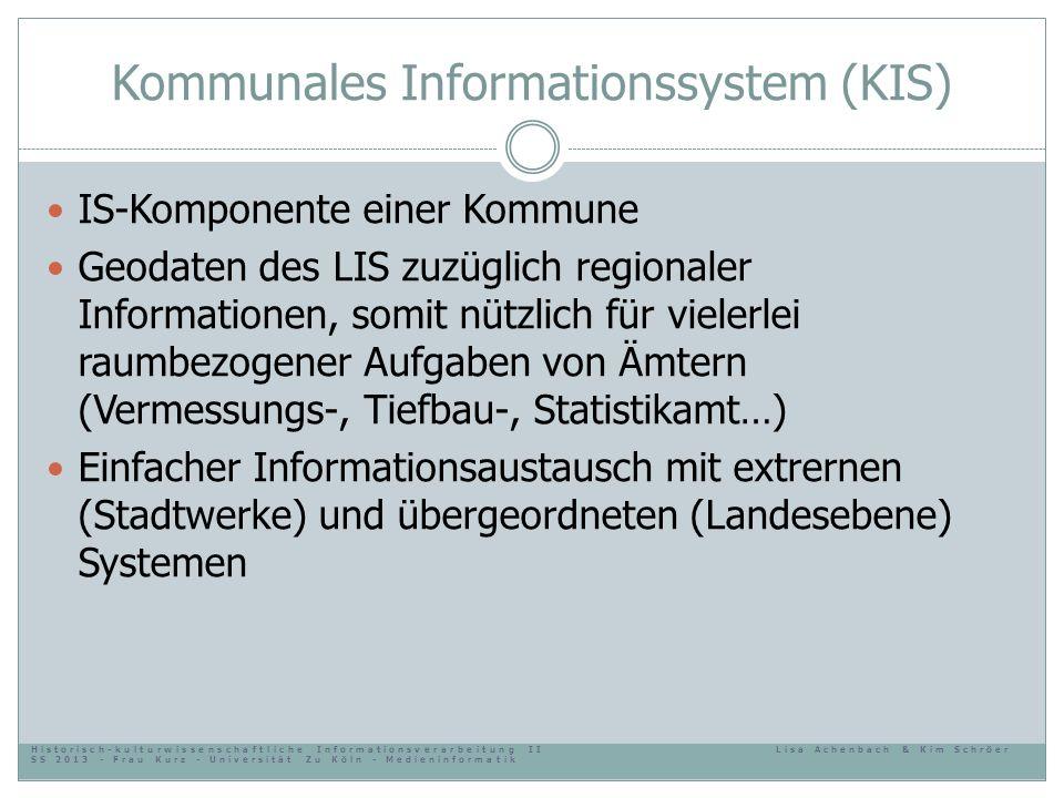 Kommunales Informationssystem (KIS)