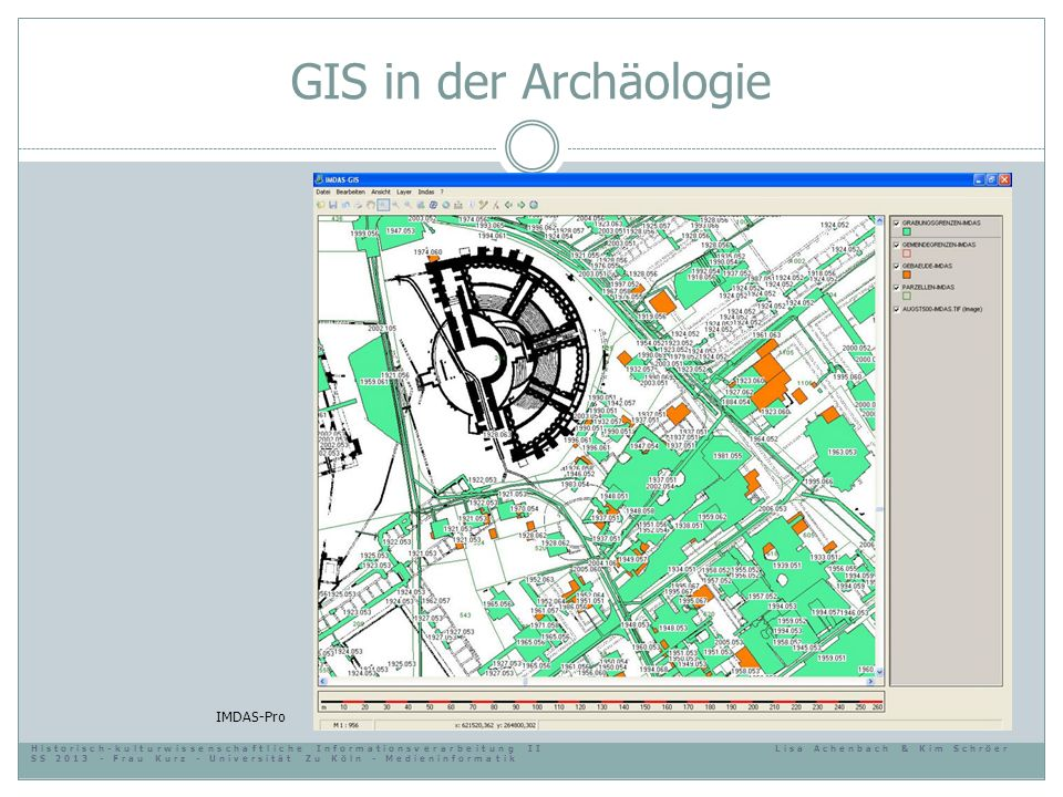 GIS in der Archäologie IMDAS-Pro