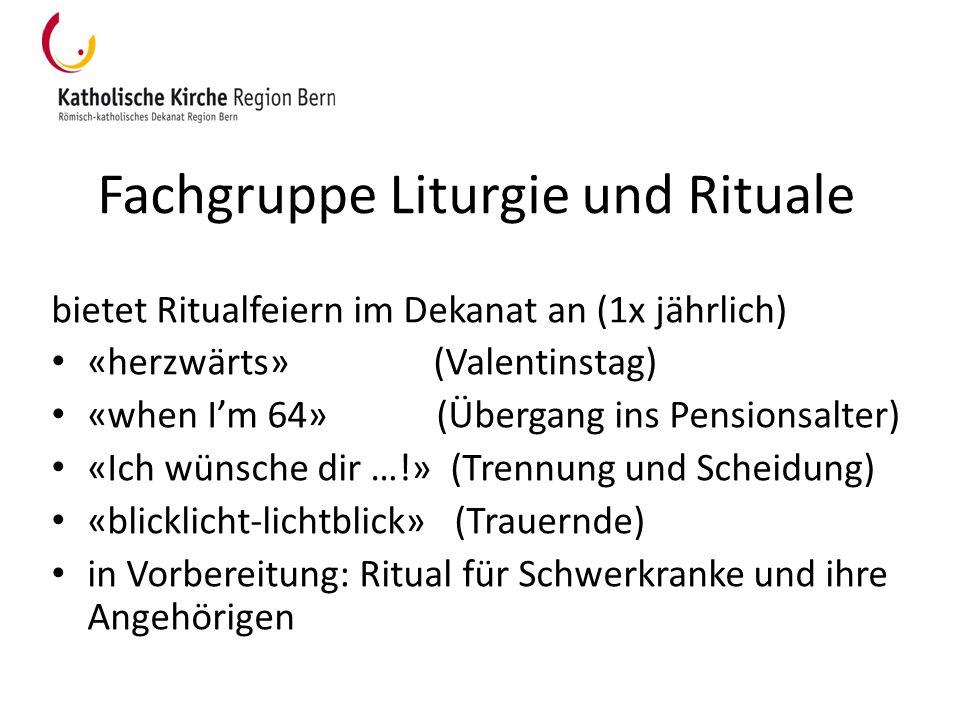 Fachgruppe Liturgie und Rituale