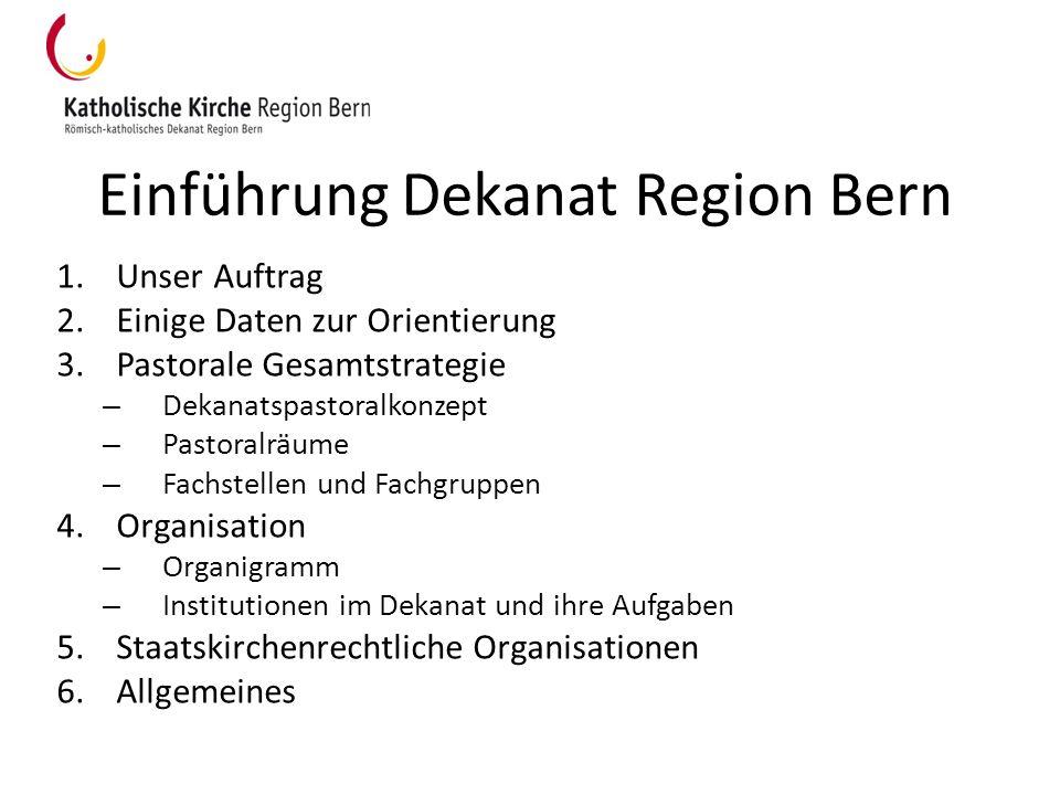 Einführung Dekanat Region Bern