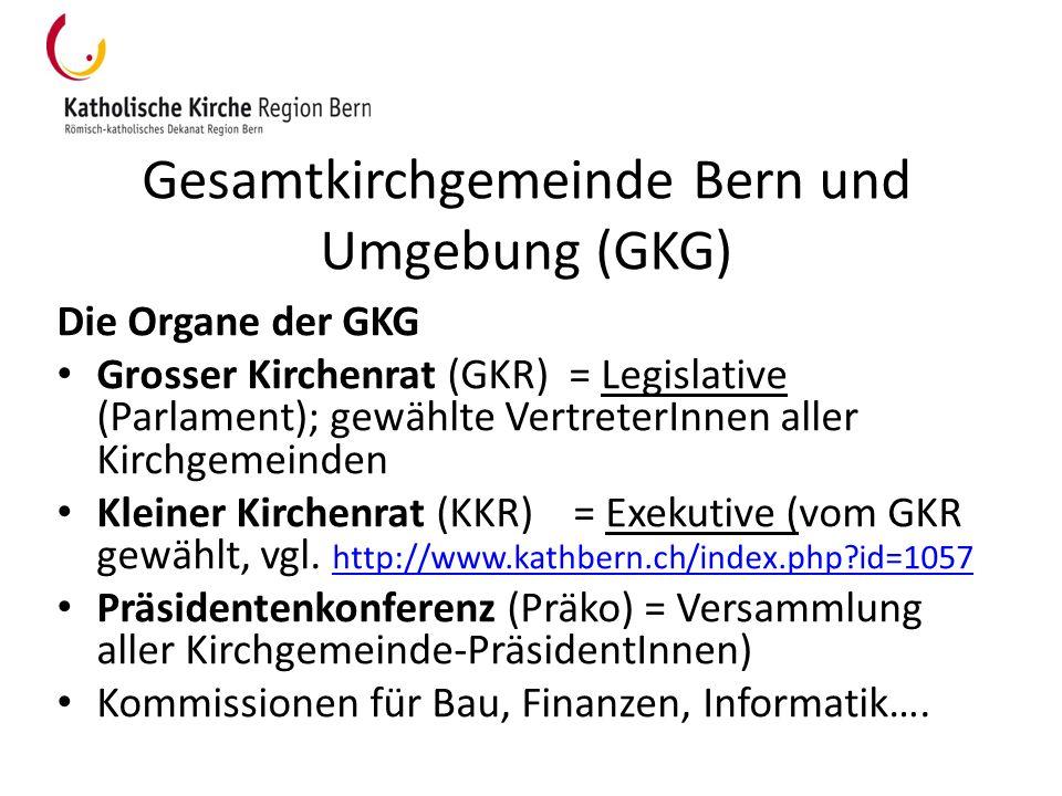 Gesamtkirchgemeinde Bern und Umgebung (GKG)